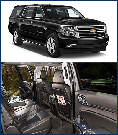 4-6 Pass SUV Suburban,Limousine Rental Service, Houston, The Woodlands, Spring, Tomball, Kingwood, Conroe