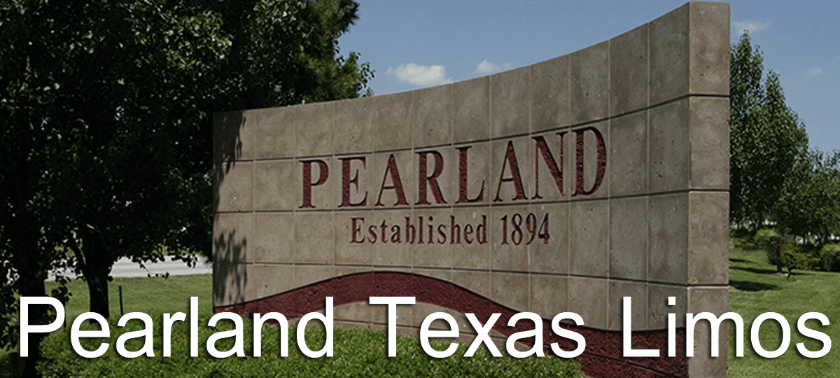 Pearland Limo Service, Pearland Party Bus Rental, Pearland Airport Sedan Transportation